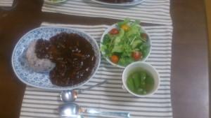 直美さん夕食