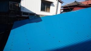 野田邸の屋根完成