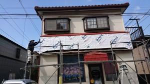田口邸防水紙