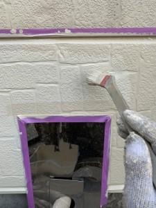 村松邸表面塗装