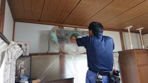 成田邸エアコンクリーニング