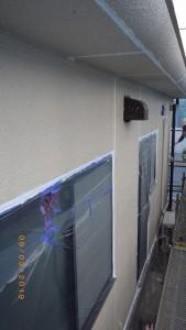 板間目地シール状況(1階西面)