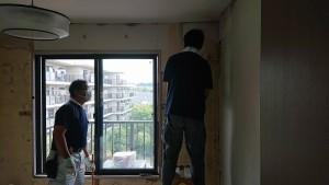山下邸壁解体1