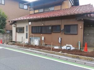 岩井邸駐車場2